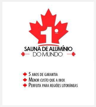 Banner Sauna de Alumínio